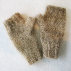 mitaines en laine canine