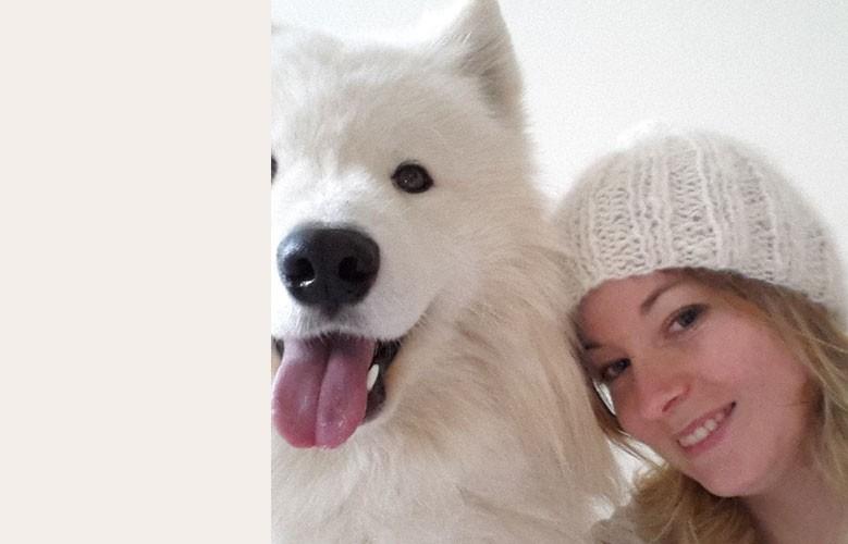 Bonnet avec le sous-poil de votre chien