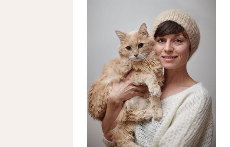 Bonnet avec le sous poil de votre chat