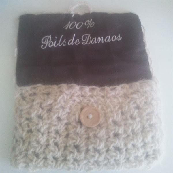 Pochette laine sous poil de Danaos